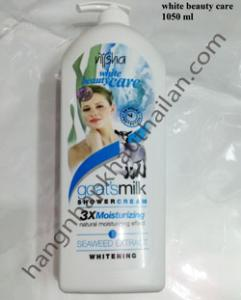 Sữa tắm nysha white beauty care  1100ml,1150ml 14/1, 12/1
