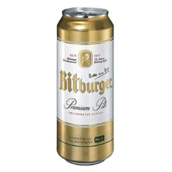 Bia Bitburger lon 500ml 24/1