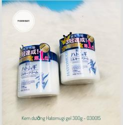 KEM DƯỠNG HATOMUGI MOISTURIZING CONDITIONING GEL 300G 30/1