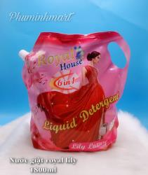 Nước giặt Royal house Lily RAH 1800ml 6/1