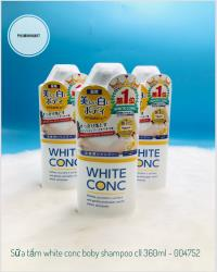 SỮA TẮM WHITE CONC BODY SHAMPOO CII  360ML 24/1
