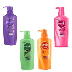Xả sunsilk Thái Lan 450ml- 500ml 12/1